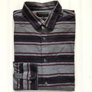 BANANA REPUBLIC L/S Light Flannel Button Down!  L